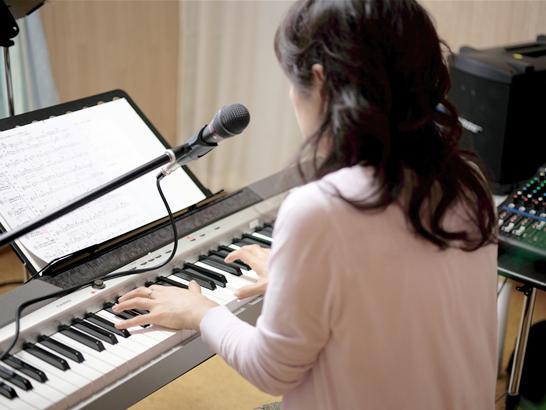 歌とピアノのレッスン